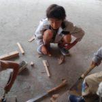 5/20(土) プレーリーダーと遊ぼう〜切ってたたいて木工作〜