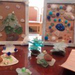 クリスマスツリー作り
