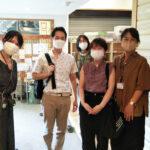 鎌倉市岩岡教育長がラルゴを訪問してくださいました!